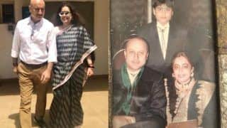 Anupam Kher Wishes His 'Dearest Kirron' on Her 65th Birthday With a Lovely Note And Some Throwback Pictures