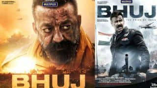 Bhuj: The Pride of India Movie Posters: Ajay Devgn And Sanjay Dutt Look Striking in The Story of 1971 Indo-Pak War