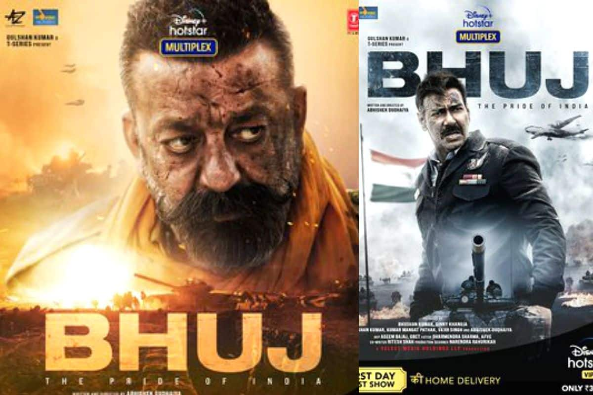 Bhuj: The Pride of India Movie Posters: Ajay Devgn And Sanjay Dutt ...