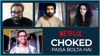 फिल्म 'चोक्ड' को मिल रही प्रतिक्रिया से बेहद खुश हैं अनुराग कश्यप, स्टारकास्ट ने भी बताई दिल की बात