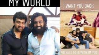Chiranjeevi Sarja's Brother Dhruva Sarja Inconsolable After Actor's Demise, Writes 'I Want You Back' in New Post