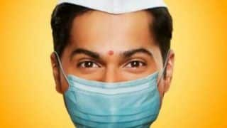 Coolie No 1: Varun Dhawan Wears Mask in New Poster, Film to Get a COVID-19 Twist?
