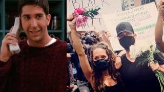 FRIENDS' Ross Geller Aka David Schwimmer Joins George Floyd Protests in NY, Says 'Demanding Better Future For Our Children'
