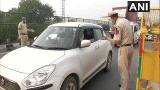 Delhi-Noida Border: दिल्ली-नोएडा बॉर्डर पर लगा भारी जाम, फिर से हंगामे के आसार