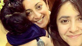 Smriti Irani Gives Biggest Surprise to Ekta Kapoor, Reunites Kyukii Cast And Makes Her Emotional