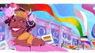 Celebrating Pride: Google Honours LGBTQ+ Rights Activist Marsha P Johnson With a Colourful Doodle