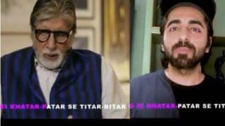 Gulabo Sitabo Promotions: Amitabh Bachchan, Ayushmann Khurrana Share Tongue Twister Videos, Guess Who Won?
