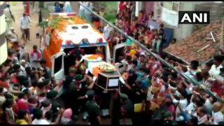 Watch: Mortal Remains of Havaldar Sunil Kumar Being Taken For Last Rites