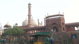 Unlock 1.0 में खुली जामा मस्जिद, बदला इबादत का तरीका, वजू से लेकर गले मिलने तक पर पाबंदी!