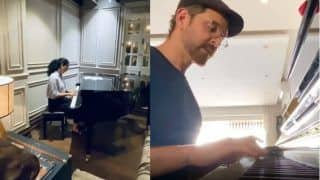 Kangana Ranaut Plays Classic Theme of Love Story on Piano And Fans Compare Her With Hrithik Roshan