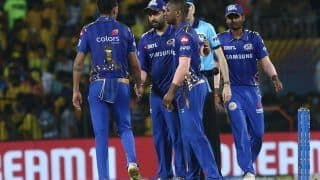 Mumbai Indians to Start Training From Thursday Under Strict Guidelines