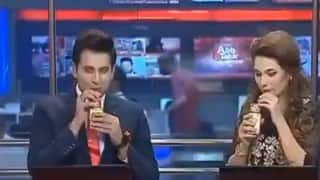 Watch | Pakistani News Anchors Promote Juice Brand On Live TV, Amused Netizens Ask 'Is This For Real?'