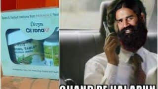 Coronil Becomes the Top Trend on Twitter As Ramdev's Patanjali Launches Ayurvedic Covid-19 Drug, Memes & Jokes Abound
