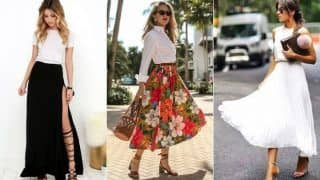 How to Style These 3 Different Maxi Skirts And Look Sassy?