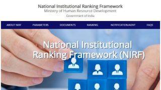 NIRF India Rankings 2020: एनआईआरएफ रैंकिंग जारी, IIT मद्रास पहले तो IISc बेंगलुरु दूसरे नंबर पर रहा, यहां देखें पूरी लिस्ट