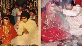 Amitabh Bachchan-Jaya Bachchan's Wedding Anniversary: When Big B's Father Did Not Allow Him to go to London With Jaya Before Marriage