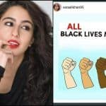 There is no Polite Way to Say This - Sara Ali Khan Discredited #BlackLivesMatter in Uncool Cringeworthy Way