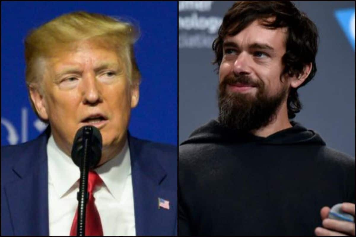 Twitter Ceo Jack Dorsey And Us President Donald Trump Lock Horns Again This Time Over Latter S Campaign Video Which Had Copyright Issues India Com