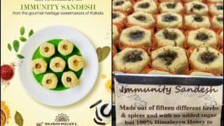 Immunity Sandesh: Kolkata Sweet Shop Prepares Dessert With 15 Different Herbs And Spices Amid COVID-19