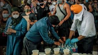 Langar Amid #BlackLivesMatter Protests: Sikh Community in New York Makes Sure Protestors do Not Sleep on Empty Stomachs