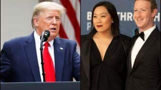 Facebook CEO Mark Zuckerberg And Wife Chan on US President Donald Trump's Tweets: 'We Are Deeply Shaken And Disgusted'