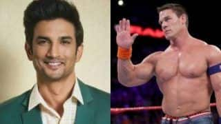 शोक की लहर,WWE चैंपियन जॉन सीना ने कुछ यूं दीसुशांत सिंह राजपूत को श्रद्धांजलि
