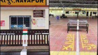 'Liquor is Legal on One Side of This Bench': Twitter Jokes as Maharashtra-Gujarat Border Cuts Through Navapur Railway Station