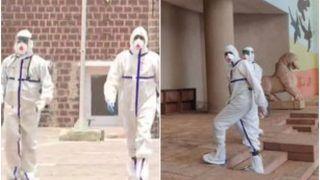 Rajya Sabha Elections 2020: कोरोना पॉजिटिव MLA ने PPE किट पहनकर डाला वोट, जैसे ही पहुंचे मची अफरातफरी