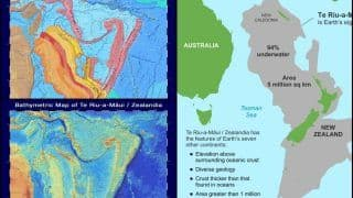 Earth's Eighth Continent? 2020 Brings New Surprise as Maps of 'Zealandia' Released in Latest Data