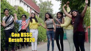 Goa HSSC Result 2020: गोवा बोर्ड ने जारी किया 12वीं का रिजल्ट, यहां से चेक करें अपना स्कोर