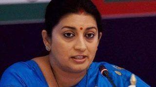 Don't Think Gandhi Family Will Take Action Against Kamal Nath for    Item    Remark: Smriti Irani