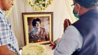 Sushant Singh Rajput's Death: Union Minister Ravi Shankar Prasad Visits Late Actor's Patna House to Meet Family