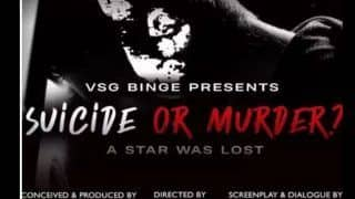 Film Based on Sushant Singh Rajput's Life Titled 'Suicide or Murder: A Star Was Lost'