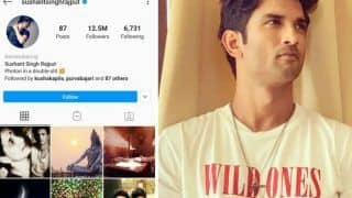 Instagram Adds 'Remembering' to Memorialize Late Sushant Singh Rajput's Account