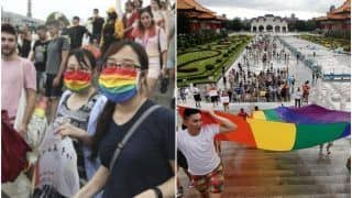 Taiwan Hosts the World's Only LGBT Pride Parade Amid Pandemic, Over 1000 People Attend | See Pics