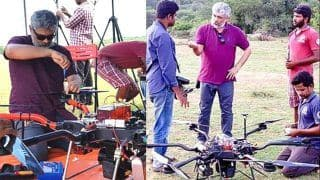 Thala Ajith Hailed For Mentoring IIT Madras Team Daksha to Design High Capacity Drone For COVID-19 Relief Work