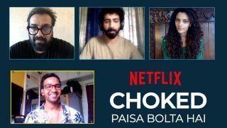 Watch: Choked Team Anurag Kashyap, Saiyami Kher And Roshan Mathew Get Candid