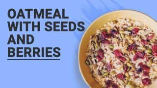 Watch Healthy Snack Recipe: This Easy Oatmeal Food Can be Your Super Quick Breakfast