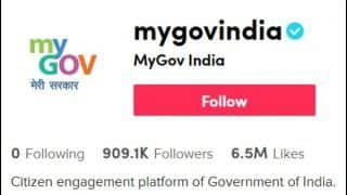 'Aatma Nirbhar Bharat?' Twitterati Confused After a TikTok Account Under the Name of Government of India Surfaces