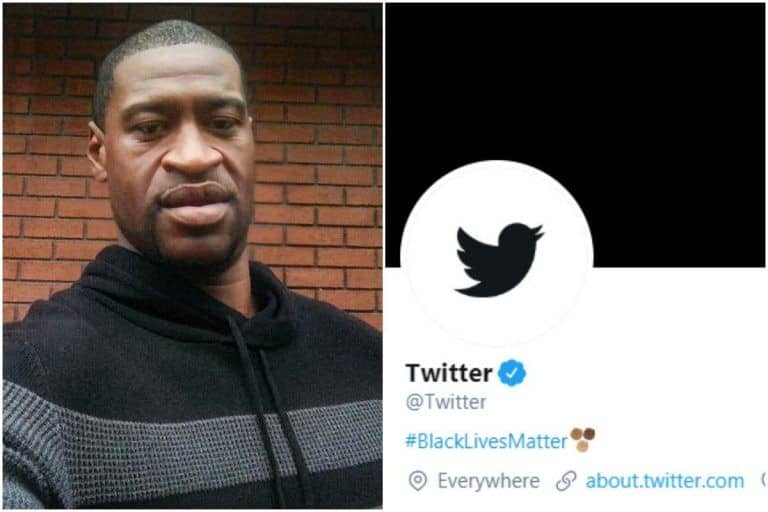 Twitter Changes Logo to Black, Updates Bio to #BlackLivesMatter to Protest George Floyd's Killing