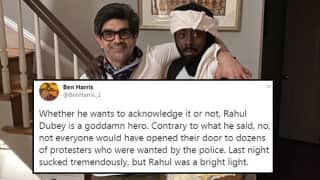 'Rahul Dubey is an American Hero': Twitter Hails Indian-American Man Who Sheltered 75 Protesters From Police