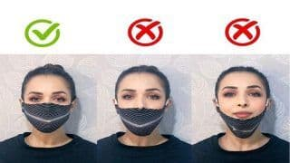 Malaika Arora Shows How to Wear a Mask Correctly