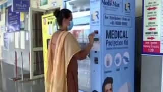 Vending Machine Installed at Chandigarh Railway Station to Dispense Masks, Sanitisers to Commuters