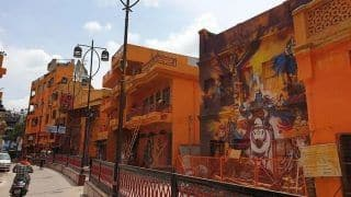 UP Minister    Forcibly    Gets Houses Painted in Saffron Colour, Residents Lodge FIR