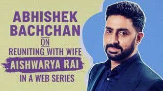 Abhishek Bachchan Speaks on if he Would Want to Reunite With Wife Aishwarya Rai Bachchan Onscreen