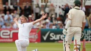 On this day in 2009 the ashes eng vs aus andrew flintoff five wicket haul guide england to win ashes match in lords after 75 years 4089956