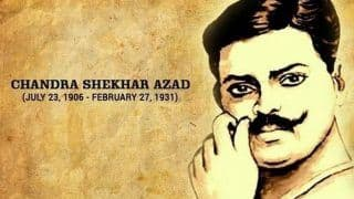 Remembering Chandra Shekhar Azad: 10 Facts About India's Fearless Freedom Fighter