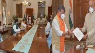 BJP नेताओं ने राष्ट्रपति से पश्चिम बंगाल की ममता बनर्जी सरकार को बर्खास्त करने की मांग की