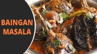 Baingan Masala Recipe: Follow The Steps to Make This Delicious And Spicy Indian Curry at Home