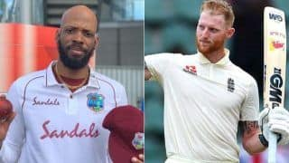 Eng vs wi 2nd test day 2 ben stokes dominic sibley take england to 469 9 windies 32 1 4088129